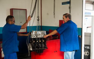 Teste de motor
